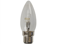 Energizer Lighting EVES4871 - Candle ECO Halogen 33 Watt (40 Watt) BC/B22 Bayonet Cap Card of 2