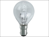 Energizer Lighting EVES4880 - G45 ECO Halogen Bulb 33 Watt (40 Watt) SBC/B15 Small Bayonet Cap Box 1