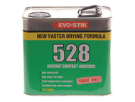 Evo-Stik EVO528212L - 528 Instant Contact Adhesive 2.5 Litre