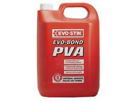 Evo-Stik EVOEBPVA5L - Evo Bond PVA Universal Adhesive 5 Litre