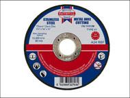 Faithfull FAI11512M - Cut Off Disc for Metal 115 x 1.2 x 22mm