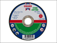 Faithfull FAI1253S - Cut Off Disc for Stone 125 x 3.2 x 22mm