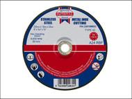 Faithfull FAI23018MDC - Cut Off Disc for Metal Depressed Centre 230 x 1.8 x 22mm