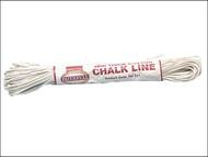 Faithfull FAI304 - 304 Thick Cotton Chalk Line 18m (Box of 12)