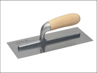 Faithfull FAI821 - 821 Plastering Trowel Wooden Handle 280 x 120mm (11in x 4.3/4in)
