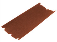 Faithfull FAIA20347524 - Aluminium Oxide Floor Sanding Sheets 203 x 475mm 24g