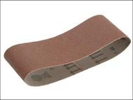 Faithfull FAIAB100610F - Cloth Sanding Belt 610 x 100mm 120g (Pack of 3)