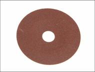 Faithfull FAIAD17860 - Resin Bonded Fibre Disc 178mm x 22mm x 60g (Pack of 25)