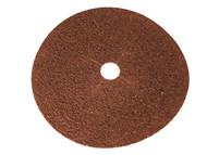 Faithfull FAIADFS17880 - Floor Disc E-Weight Aluminium Oxide 178 x 22mm 80g