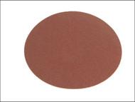 Faithfull FAIADSA15080 - Self Adhesive Red PSA 150 mm Disc 80G (Pack of 25)