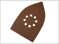 Faithfull FAIAOMULTIC - Multi Sander Sheets Hook & Loop Red Coarse (Pack of 5)