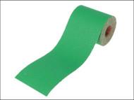 Faithfull FAIAR10060G - Aluminium Oxide Paper Roll Green 100 mm x 50m 60g