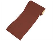 Faithfull FAIAR115120R - Aluminium Oxide Paper Roll Red Heavy-Duty 115 mm x 50m 120g