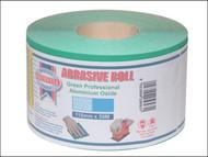 Faithfull FAIAR11540G - Aluminium Oxide Paper Roll Green 115 mm x 50m 40g