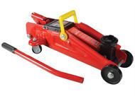 Faithfull FAIAUJACTR15 - Hydraulic Trolley Jack 1.5 Tonnes