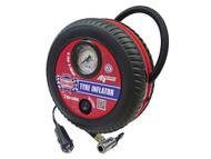Faithfull FAIAUTYINFLO - Tyre Inflator 12v Low Volume
