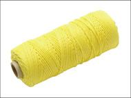 Faithfull FAIBLHVY - Hi Vis Nylon Brick Line 105m - Yellow