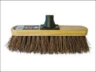 Faithfull FAIBRBASS12R - Broom Head Bassine Varnished 300mm (12in) Threaded Socket