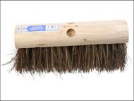 Faithfull FAIBRBC13SA - Saddleback Broom Stiff Bassine / Cane 325mm (13 in)