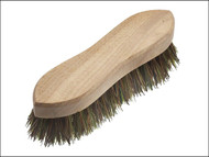 Faithfull FAIBRHANDSCR - Hand Scrubbing Brush 200mm (8 in) Unvarnished