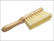 Faithfull FAIBRHANDSOF - Hand Brush Soft Cream PVC 275mm (11 in)