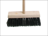 Faithfull FAIBRPVC13H - Broom PVC 325mm (13 in) Head complete with Handle