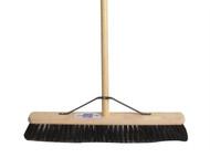 Faithfull FAIBRPVC24H - Broom PVC 600mm 24in & 54in Handle