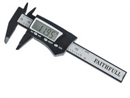 Faithfull FAICALDIG75 - Mini Digital Caliper 75mm Capacity