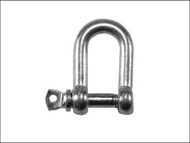 Faithfull FAICHDS60SS - D Shackle Stainless Steel 6mm (Pack of 2)