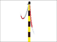 Faithfull FAICHPOSTYB - Plastic Post for Chain - Yellow / Black