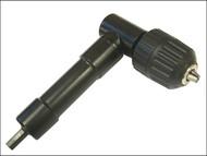 Faithfull FAICHUCKRA - Right Angled Drill Chuck 10mm Keyless