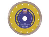 Faithfull FAIDB105CR - Diamond Tile Blade Continuous Rim 105mm x 16mm