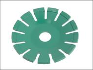 Faithfull FAIDB115CB - Diamond Blade Green Concave Curve Cutting 115mm x 22.2mm