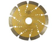 Faithfull FAIDB125S - Diamond Blade Gold Series Universal Cut 125mm x 22.2mm
