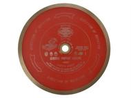 Faithfull - Diamond Tile Blade Continuous Rim 230mm x 25.4mm