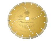 Faithfull FAIDB230S - Diamond Blade Gold Series Universal Cut 230mm x 22.2mm