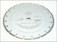 Faithfull FAIDB300LP - Diamond Blade Platinum Series Hard Materials 300mm x 22.2mm (20mm)