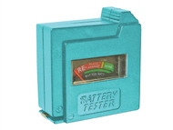Faithfull FAIDETBAT - Battery Tester for AA, AAA, C, D & 9V
