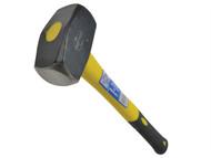 Faithfull FAIFG4LH - Club Hammer 1.81kg (4lb) - Long Shaft Fibreglass Handled