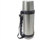 Faithfull FAIFLASK1 - Vacuum Flask Stainless Steel 1 Litre