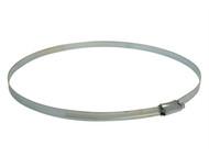Faithfull FAIHC105B - 10.5 Hose Clip - Zinc MSZP 235 - 267mm