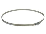 Faithfull FAIHC115B - 11.5 Hose Clip - Zinc MSZP 260 - 292mm
