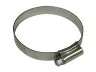 Faithfull FAIHC3SSB - 3 Stainless Steel Hose Clip 55 - 70mm