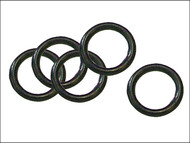 Faithfull FAIHOSERINGS - O Rings for Brass Fittings (Pack of 5)