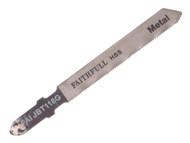 Faithfull FAIJBT118G - Jigsaw Blades (Pack of 5) Metal T118G
