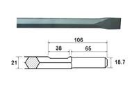 Faithfull FAIKAGC450 - Chisel 450mm Kango Shank (914119)