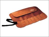 Faithfull FAILCR8 - Leather Chisel Roll - 8-Pocket