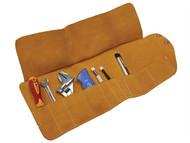 Faithfull FAILTR10 - Tool Roll 10 Pocket Leather