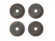 Faithfull FAIPCCRW - Pipe Slicer Wheel Only (Pack of 4)