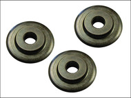 Faithfull FAIPCW642 - Pipe Cutter Replacement Wheels (Pack of 3)